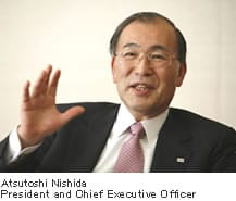Atsutoshi Nishida Toshiba CEO
