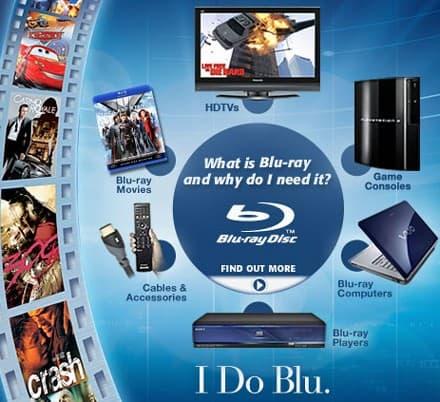 Blu ray Amazon banner