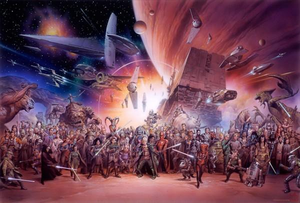 Star Wars Anniversary poster