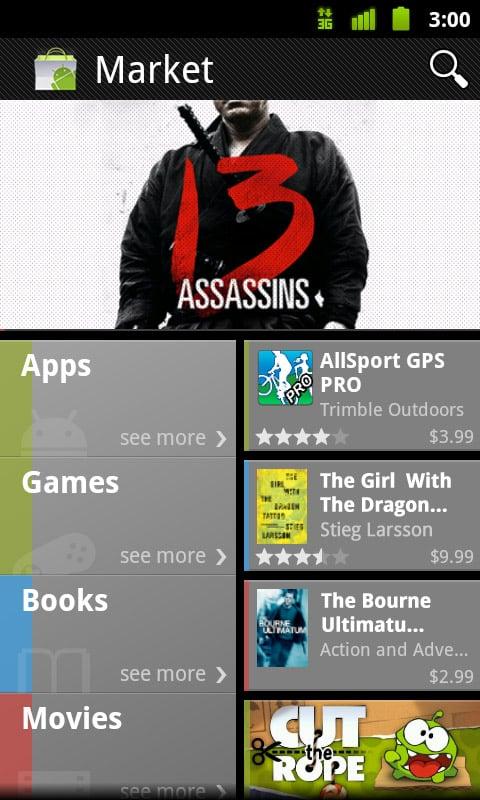 Novi izgled Android Marketa