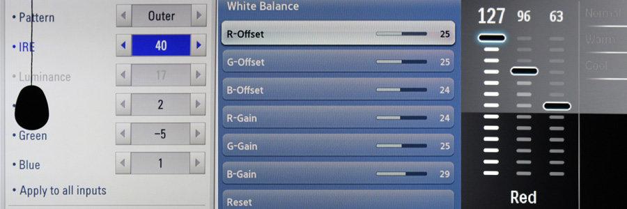 rgb-balance on different TVs