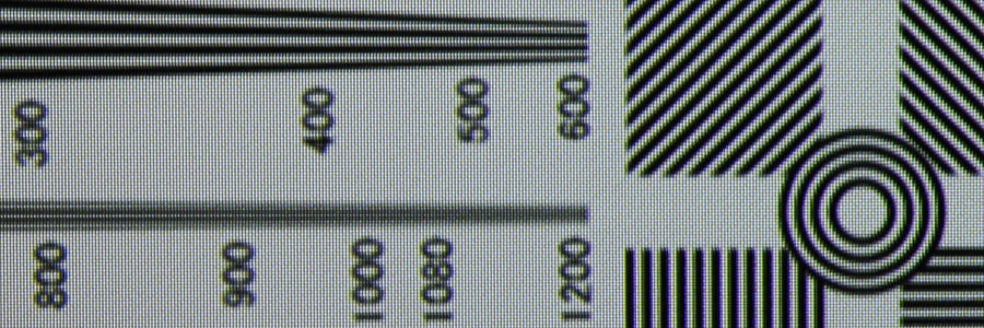 sharpness-detail from FPD Benchmark Blu ray disc