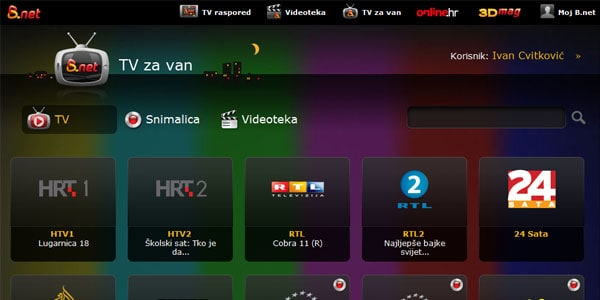 B.net-TV-za-van