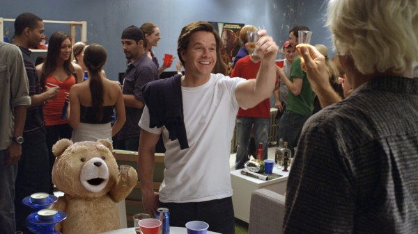 Ted-at-a-party