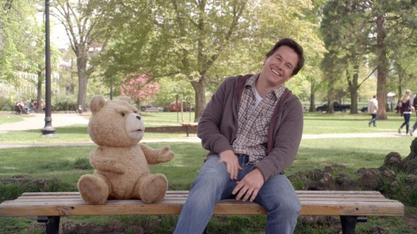 Ted-in-a-park