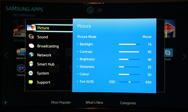 samsung-hu8500-settings