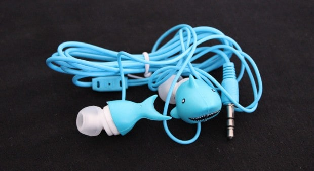 Shark Week earbuds