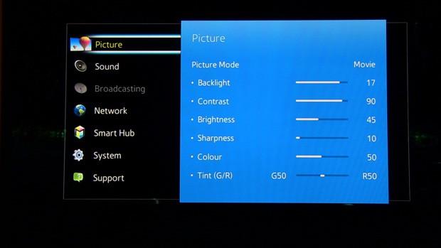 samsung-h6400-menu
