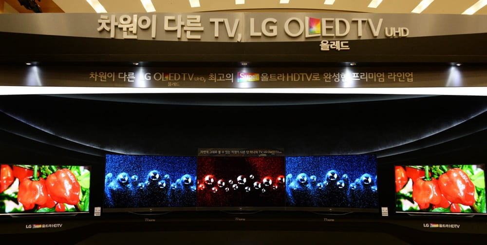 LG 2015 TV Launch Event