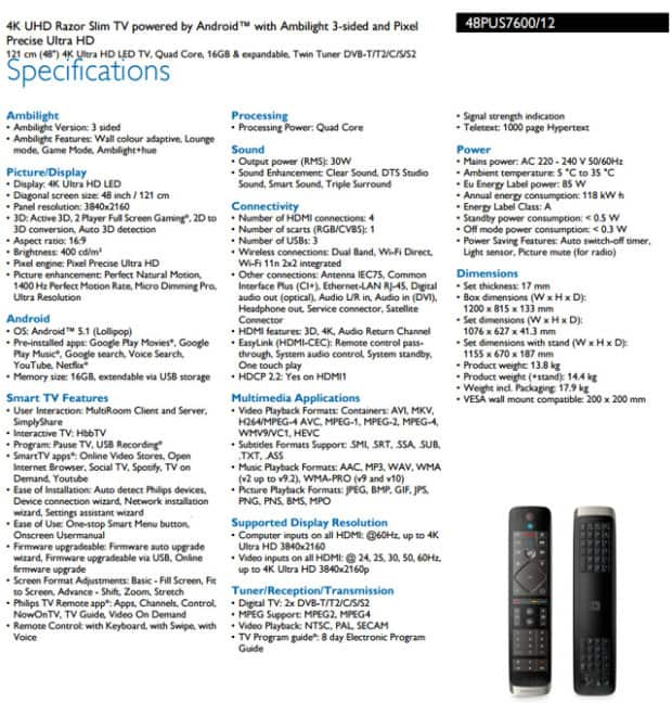 philips-48pus7600-specs
