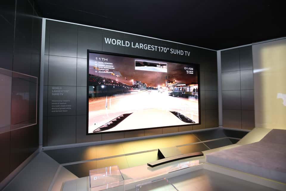 samsung predstavio modularni i golemi suhd tv 432 cm. Black Bedroom Furniture Sets. Home Design Ideas