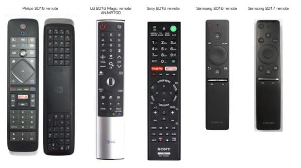 samsung-40mu6402-remote-comparison