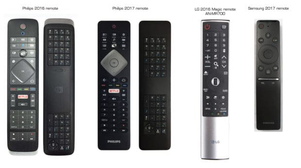 philips-55pus7502-remote-comparison