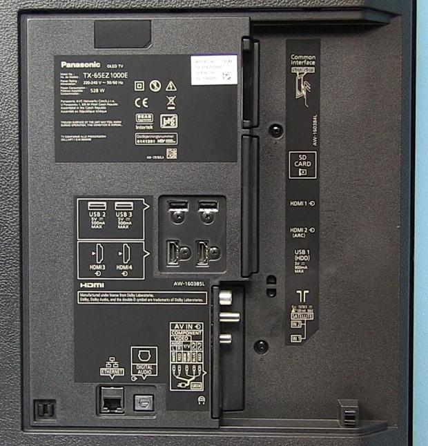 panasonic-65ez1000e-connectors