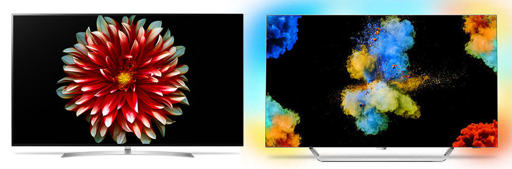 Lg Oled55b7 Vs Philips 55pos9002 Ultra Hd Oled Tv Comparison Review