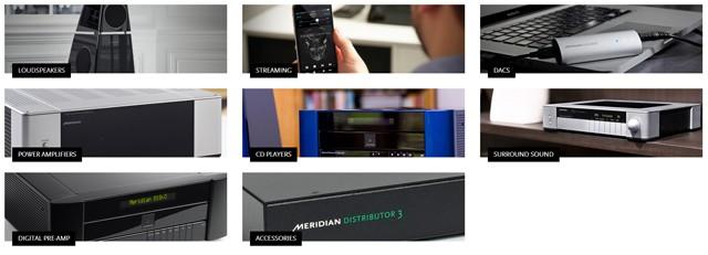 meridian-audio-product-range